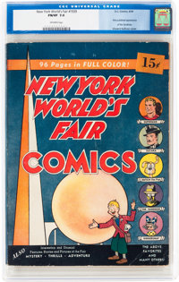 New York World's Fair Comics 1939 (DC, 1939) CGC FN/VF 7.0 Off-white pages