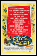"Movie Posters:Rock and Roll, The Big Beat (Universal International, 1958). One Sheet (27"" X41""). Rock and Roll.. ..."