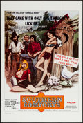"Movie Posters:Sexploitation, Southern Comforts (Boxoffice International Pictures, 1971). OneSheet (27"" X 41""). Sexploitation.. ..."