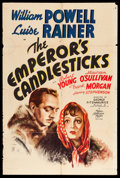 "Movie Posters:Romance, The Emperor's Candlesticks (MGM, 1937). One Sheet (27"" X 41"") StyleD. Romance.. ..."