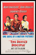 "Movie Posters:Comedy, The Devil's Disciple (United Artists, 1959). One Sheet (27"" X 41""). Comedy.. ..."