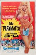 """Movie Posters:Adult, The Playmates in Deep Vision 3-D (Phantasy, 1973). One Sheet (27.5"""" X 42""""). Adult.. ..."""