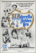 "Movie Posters:Sexploitation, Sinderella and the Golden Bra (Manson Distributing, 1964). One Sheet (27"" X 41""). Sexploitation.. ..."