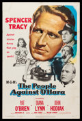 """Movie Posters:Crime, The People Against O'Hara (MGM, 1951). One Sheet (27"""" X 41""""). Crime.. ..."""