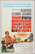 "Movie Posters:War, The Bridge on the River Kwai (Columbia, R-1963). One Sheet (27"" X 41""). War.. ..."