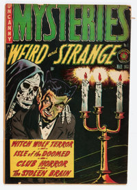 Mysteries #1 (Superior, 1953) Condition: VG