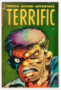 Golden Age (1938-1955):Horror, Terrific Comics #14 (Ajax / Farrell, 1954) Condition: VG-....