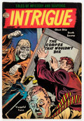 Golden Age (1938-1955):Horror, Intrigue #1 (Quality, 1955) Condition: VG/FN....