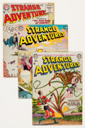 Golden Age (1938-1955):Science Fiction, Strange Adventures Group (DC, 1953-58).... (Total: 8 Comic Books)