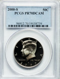 Proof Kennedy Half Dollars: , 2000-S 50C Clad PR70 Deep Cameo PCGS. PCGS Population (236). NGCCensus: (394). Numismedia Wsl. Price for problem free NGC...