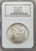 Morgan Dollars: , 1904-O $1 MS64 NGC. NGC Census: (58846/17163). PCGS Population(46491/11371). Mintage: 3,720,000. Numismedia Wsl. Price for...