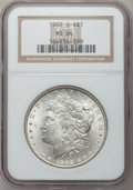 """Morgan Dollars, (2)1902-O $1 MS64 NGC. The current Coin Dealer Newsletter(Greysheet) wholesale """"bid"""" price... (Total: 2 coins)"""
