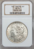 "Morgan Dollars, (3)1921 $1 MS64 NGC. The current Coin Dealer Newsletter (Greysheet)wholesale ""bid"" price i... (Total: 3 coins)"