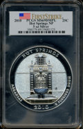 2010 25C Hot Springs Five Ounce Silver First Strike MS69 Deep Mirror Prooflike PCGS. PCGS Population (2397/0). NGC Censu...