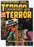 Golden Age (1938-1955):Horror, Adventures Into Terror #9 and 13 Group (Atlas, 1952).... (Total: 2Comic Books)