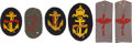 Military & Patriotic:WWI, Lot of WWI Imperial German Aviation Insignia.... (Total: 6 Items)