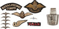 Military & Patriotic:WWI, Lot of WWI British Royal Flying Corps Insignia.... (Total: 8 Items)