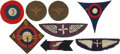 Military & Patriotic:WWI, Lot of Miscellaneous WWI U.S. Air Service or Early Air Corps ClothInsignia.... (Total: 8 Items)