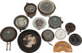 Military & Patriotic:WWI, Large Lot of Miscellaneous Aircraft Instruments and Parts....(Total: 12 Items)