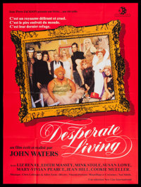 """Desperate Living (Sinfonia, 1977). French Grande (45.5"""" X 62""""). Comedy"""