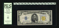 Small Size:World War II Emergency Notes, Fr. 2307 $5 1934A North Africa Silver Certificate. PCGS New 62.. A hint of handling may account for the grade on this note t...