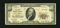 National Bank Notes:Kansas, Ottawa, KS - $10 1929 Ty. 2 The First NB Ch. # 1718. This complete representative still retains some crispness though it...