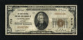 National Bank Notes:Kentucky, Covington, KY - $20 1929 Ty. 1 The First NB & TC Ch. # 718. Allthe 1929 series from here bear this, the second title un...