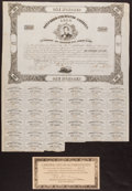Confederate Notes:Group Lots, Ball 133 Cr. 48 $100 Bond 1862 Fine-Very Fine.. ...
