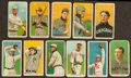 Baseball Cards:Lots, 1909-11 T206 White Borders Group (11) With HoFers & ScarcerBrands. ...
