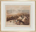 Militaria:Ephemera, Two Prints: (1) Battle of Bussaco and (2) the Battle of Vitoria. ... (Total: 2 )