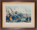 "Militaria:Ephemera, ""Battle of New Bern, NC. March 14th 1862"" Print...."