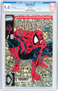Modern Age (1980-Present):Superhero, Spider-Man (1990 series) #1 Platinum Edition (Marvel, 1990) CGC NM9.4 White pages....