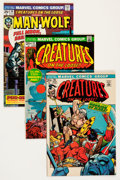 Bronze Age (1970-1979):Horror, Creatures on the Loose Group - Savannah pedigree (Marvel, 1971-75)Condition: Average NM-.... (Total: 21 Comic Books)