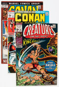 Bronze Age (1970-1979):Miscellaneous, Comic Books - Assorted Bronze Age Sword and Sorcery Comics Group(Various Publishers, 1970-74) Condition: Average VF.... (Total: 19Comic Books)