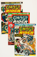 Bronze Age (1970-1979):Superhero, Ghost Rider Group - Savannah pedigree (Marvel, 1973-81) Condition: Average VF/NM.... (Total: 35 Comic Books)