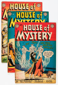 Golden Age (1938-1955):Horror, House of Mystery Group (DC, 1955-56) Condition: Average VG....(Total: 14 Comic Books)