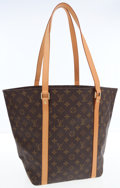 Luxury Accessories:Bags, Louis Vuitton Classic Monogram Canvas Sac Shopping Tote Bag . ...