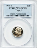 Proof Roosevelt Dimes: , 1979-S 10C Type Two PR70 Deep Cameo PCGS. PCGS Population (277).NGC Census: (79). Numismedia Wsl. Price for problem free ...