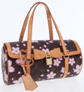 Luxury Accessories:Bags, Louis Vuitton Takashi Murakami Cherry Blossom Canvas Papillon Bag....