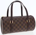 Luxury Accessories:Bags, Louis Vuitton Damier Ebene Canvas Papillon Bag. ...
