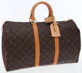 Luxury Accessories:Bags, Louis Vuitton Classic Monogram Canvas Keepall 45 WeekenderOvernight Bag . ...