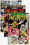 Silver Age (1956-1969):Horror, Tales of the Unexpected Group (DC, 1958-59) Condition: AverageVG/FN.... (Total: 9 Comic Books)