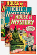 Golden Age (1938-1955):Horror, House of Mystery Group (DC, 1954-55) Condition: Average FN....(Total: 5 Comic Books)