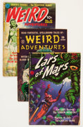 Golden Age (1938-1955):Science Fiction, Comic Books - Assorted Golden Age Science Fiction Comics Group(Various Publishers, 1950s).... (Total: 5 Comic Books)