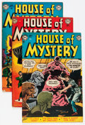 Golden Age (1938-1955):Horror, House of Mystery Group (DC, 1952-53).... (Total: 5 Comic Books)