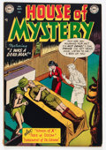Golden Age (1938-1955):Horror, House of Mystery #2 (DC, 1952) Condition: FN....