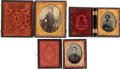 Military & Patriotic:Civil War, Lot of Three 19th Century Soldier Images.... (Total: 3 Items)