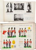 Military & Patriotic:Foreign Wars, Large Group of Military Ephemera,... (Total: 3 )