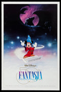 "Movie Posters:Animation, Fantasia & Other Lot (Buena Vista, R-1990). One Sheet & ArtPoster (27"" X 41"", 27"" X 38.25""). DS & Regular. Animation.. ...(Total: 2 Items)"