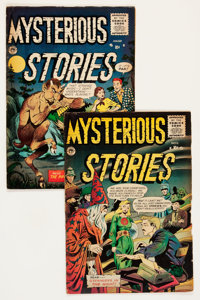 Mysterious Stories #6 and 7 Group (Premier, 1952-53).... (Total: 2 Comic Books)